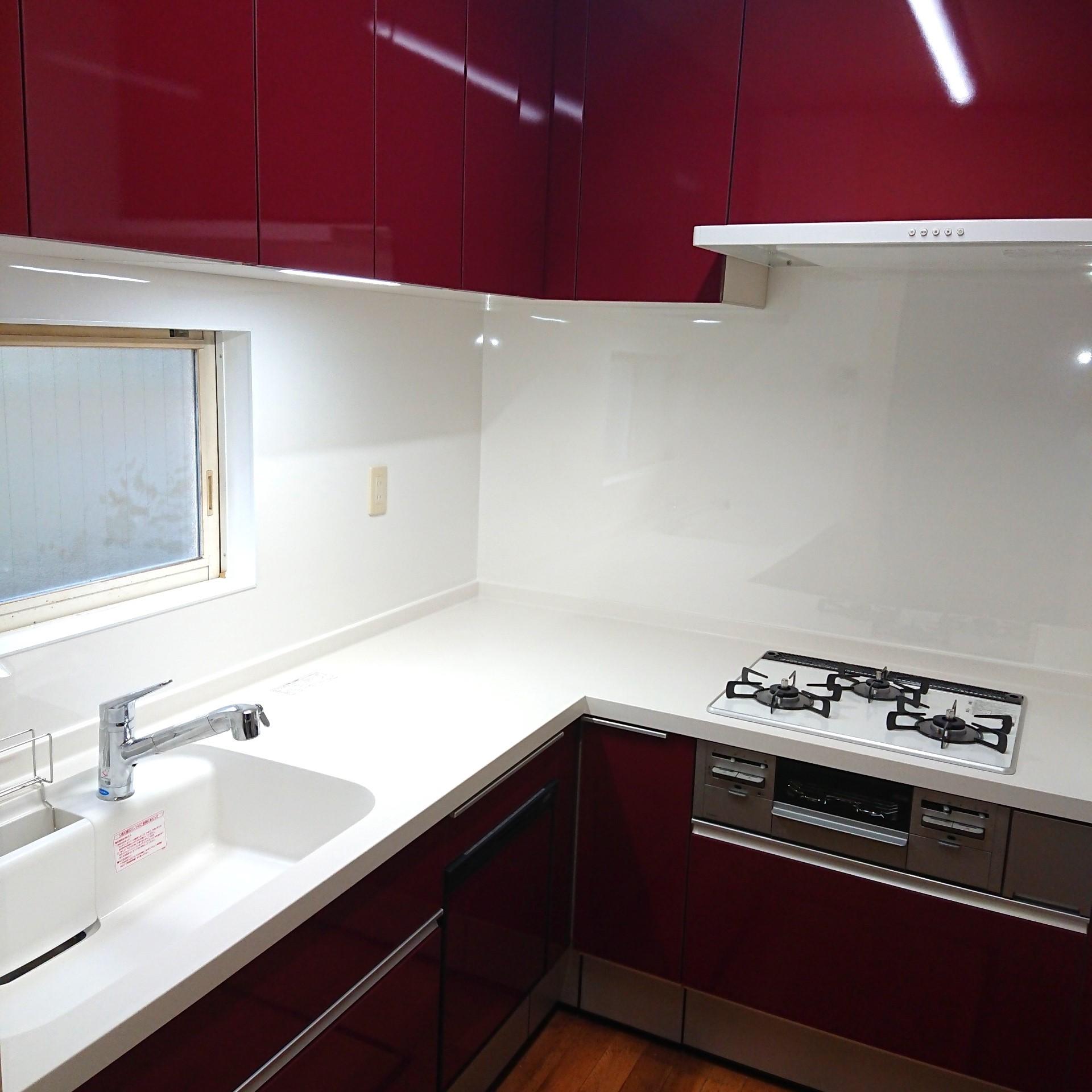 戸建て  キッチンリフォーム LIXIL シエラの画像
