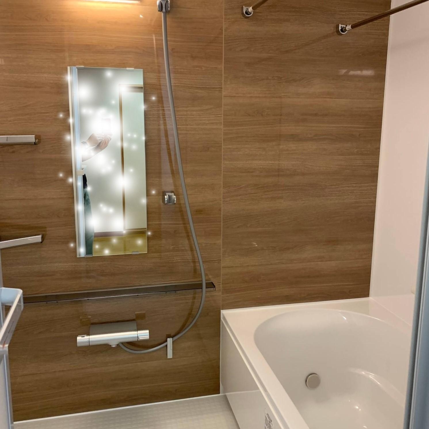 マンション<br>お風呂リフォーム<br>LIXIL リノビオVの画像