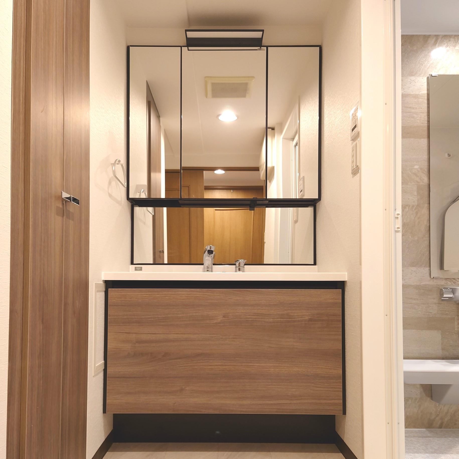 LIXIL 洗面化粧台リフォーム マンション 東京 埼玉 名古屋 大阪の画像